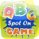 Learn alphabet - Spot On Game
